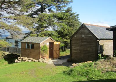 Cabin and Toilet Block
