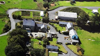 Aerial View of Cheesewring Farm